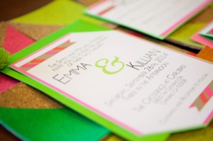 neon invite printed for website